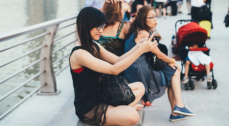 Selfie para calcular un seguro de vida